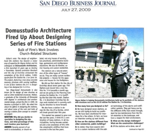 San Diego Business Journal - July 27, 2010