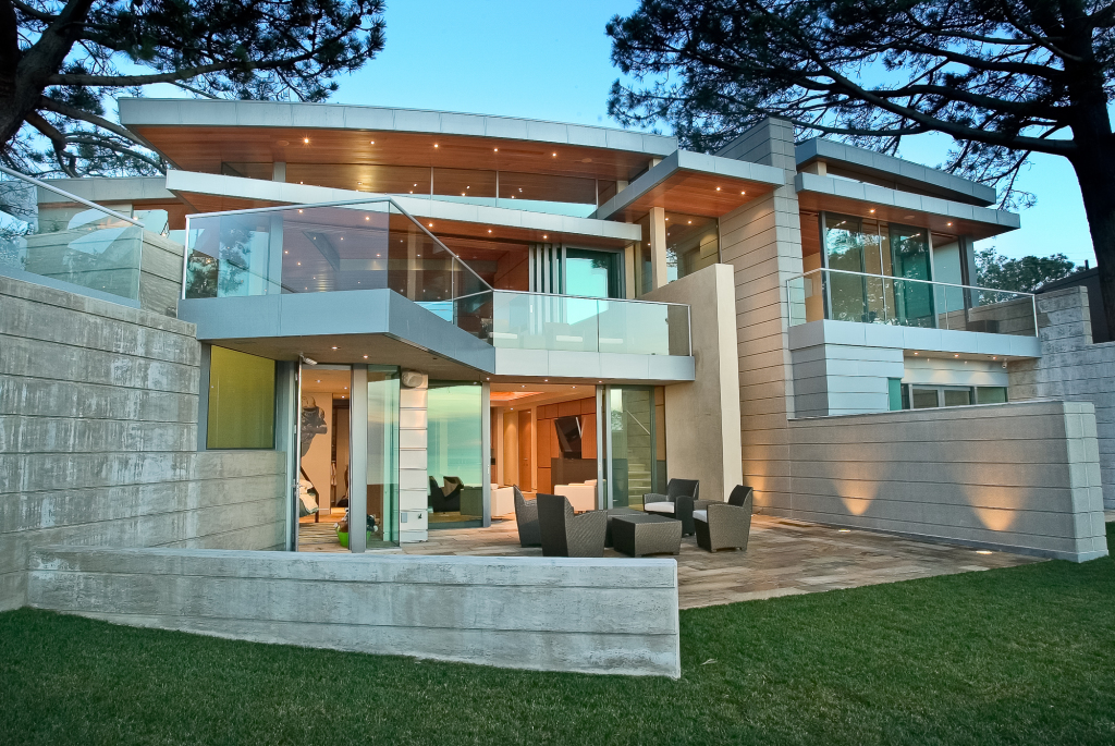 Residential Architecture La Jolla California Canyon House