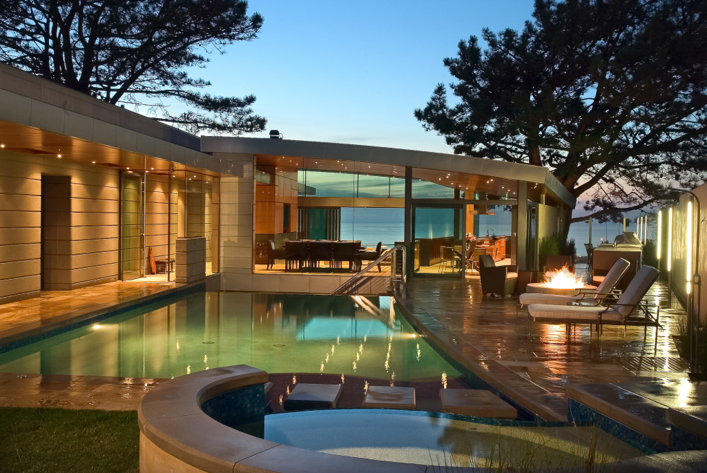 Residential architecture la jolla california canyon house for Residential architectural design styles