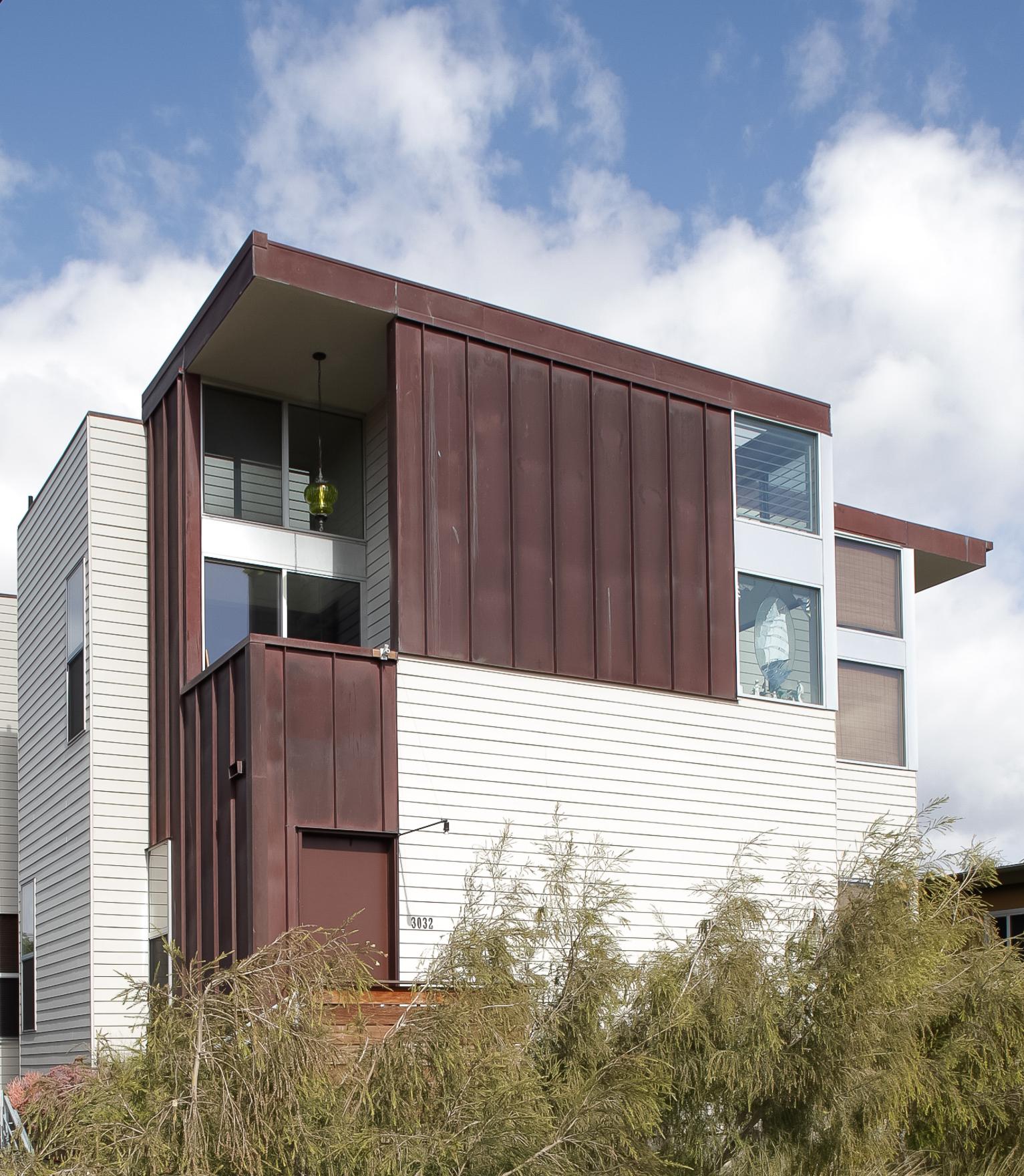 Residential architecture san diego california hugo multi for Multi family architecture