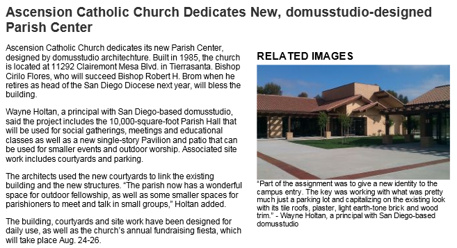 Worship Facilities - July 10, 2012