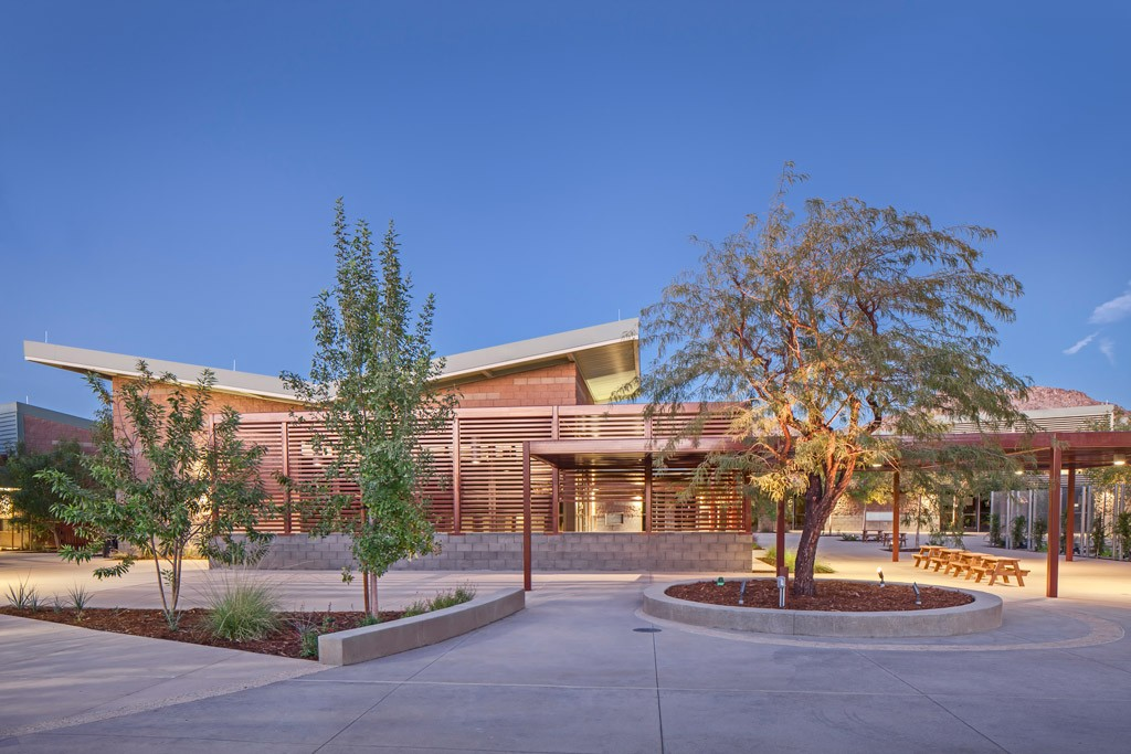 Child Development Center Twentynine Palms domusstudio Educational Architecture