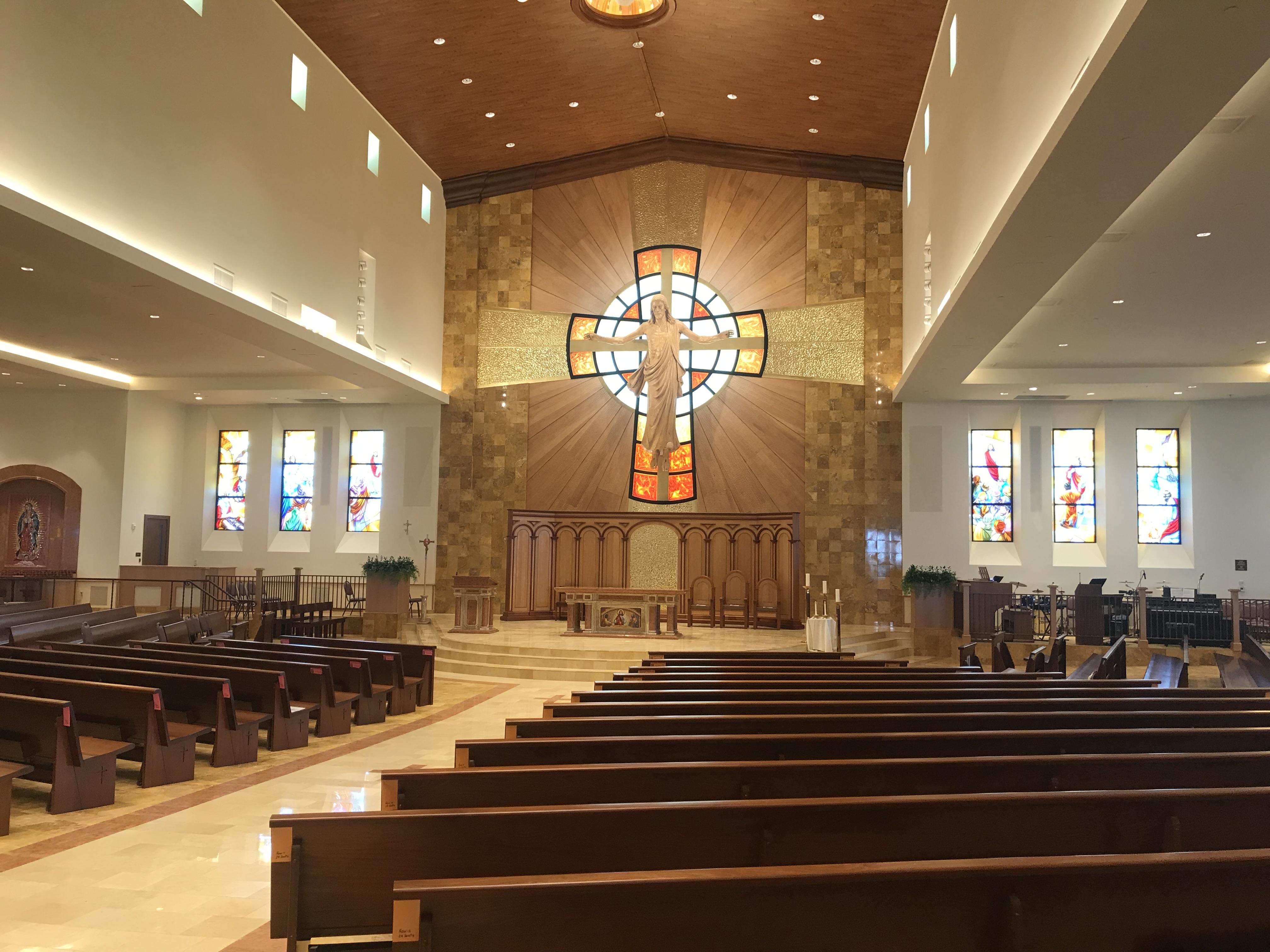 Nave Facing Altar