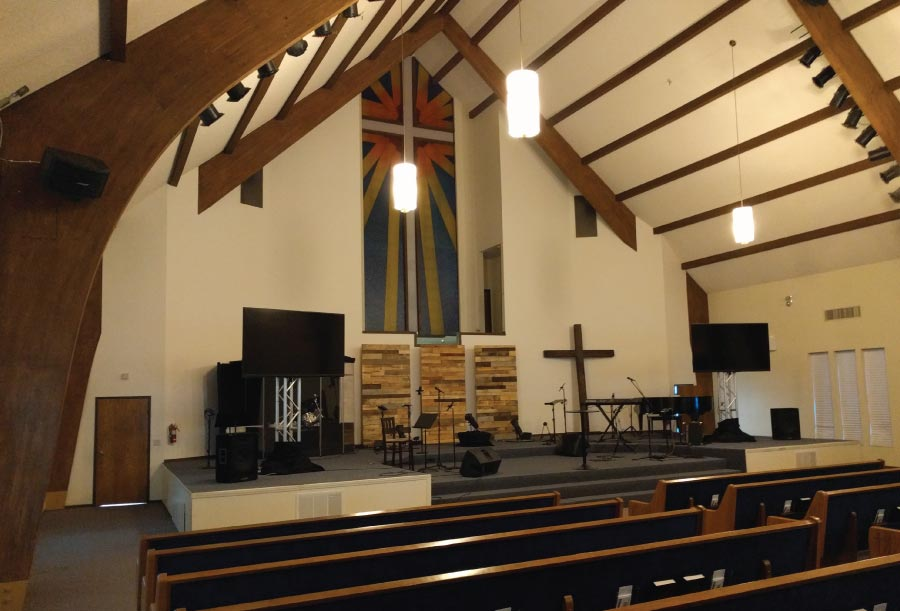 Summit Point Church - Before